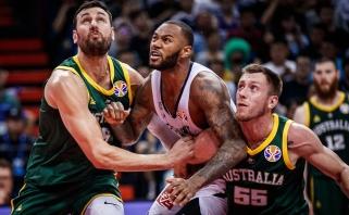 Australai tikrame trileryje nukovė prancūzus ir ketvirtfinalyje išvengė JAV rinktinės