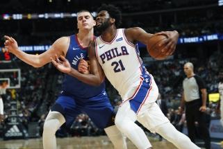 NBA savaitės žaidėjai – serbas ir kamerūnietis