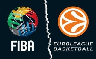 FIBA prisiteisė iš Eurolygos kone milijoną eurų