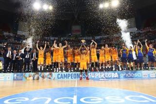"""Sensacija Ispanijoje: Las Palmo klubas Supertaurės finale sutriuškino """"Barceloną"""""""