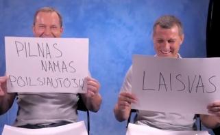 """""""Neptūno"""" treneriams - neregėtas pažinties išbandymas (nuotaikingas video)"""