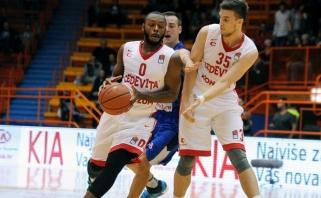 """Kroatijos čempionai įveikė """"Laboral Kutxa"""" krepšininkus"""