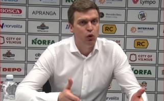 Ž.Skučo žaidimu pasibaisėjęs D.Adomaitis pratrūko: tai antikrepšinis