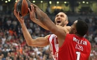 """Be J.Mačiulio žaidusi """"Real"""" neatlaikė Belgrado pragaro"""