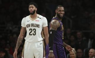 NBA naktis: Leonardo sezono rungtynės ir LeBrono trigubas dublis