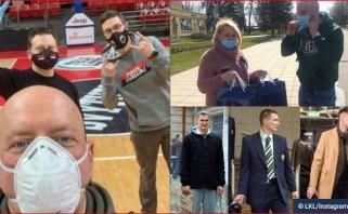 LKL klubų socialinių tinklų apžvalga: nuo pagalbos medikams iki stilingiausiųjų rinkimų