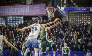 Lietuvos rinktinė išsivežė triuškinančią pergalę iš Kosovo
