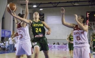 Šešiolikametės Europos čempionatą pradėjo pergale