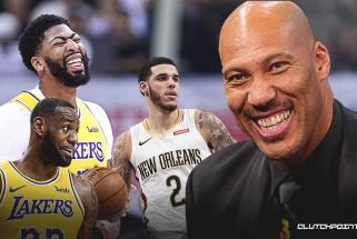 """L.Ballas: Davisas ir, kaip jis ten, Jamesas ilgai nepatemps, """"Pelicans"""" eliminuos """"Lakers"""""""