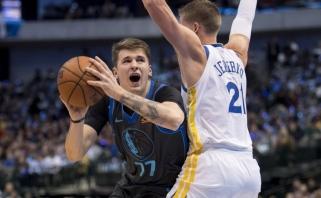 NBA naktis: Dončičius parbloškė čempionus, Butleris nustelbė 60 Walkerio taškų