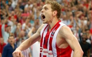 """J.Blažičius sugrįžta į Eurolygą - apsivilks """"Barcelona"""" marškinėlius"""
