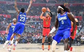 """""""Hawks"""" lyderis T.Youngas palaiko idėją įvesti keturių taškų liniją"""