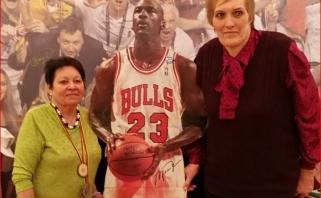 Dukart olimpinė čempionė A.Rupšienė – kamuolio virtuozė, mylėjusi krepšinį (interviu)