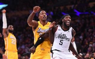 """Sujudimas Los Andžele: """"Lakers"""" prisiviliojo geriausią NBA atsarginį, Howardas išleistas į """"76ers"""""""