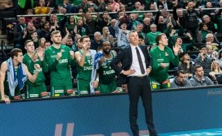 Š.Jasikevičius gyrė K.C.Riversą, D.Adomaitis kritikavo tvarkaraštį
