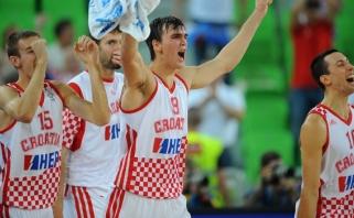 Lietuvos rinktinės varžovai kroatai paskelbė olimpinį dvyliktuką