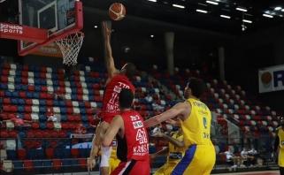 """Tragiškai pasirodžiusiam """"Maccabi"""" antrajame ketvirtfinalio mače išsigelbėti nepavyko"""