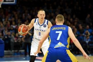 """""""Neptūnas"""" rungtynių pabaigoje palaužė Latvijos vicečempionus"""