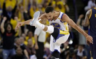 """Žvėrį išlaisvinusi """"Warriors"""" lyderio trauma: S.Curry NBA finalą pasitinka vedamas ir asmeninių ambicijų"""
