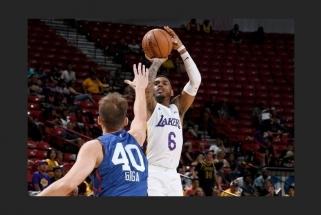 NBA Vasaros lygoje debiutavo N.Giga
