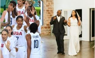 Meilė ir pasiaukojimas: olimpinė, Eurolygos ir WNBA čempionė ištekėjo už vyro, kurį pati išlaisvino iš kalėjimo