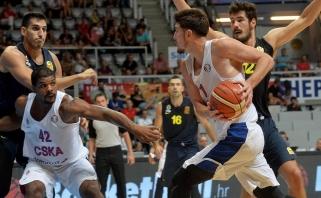 """Eurolygos grandų dvikovoje """"Fenerbahce"""" palaužė CSKA ir laimėjo turnyrą Zadare"""