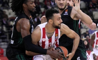 """""""Olympiacos"""" Eurolygos sezoną užbaigė sutriuškindami autsaiderius"""