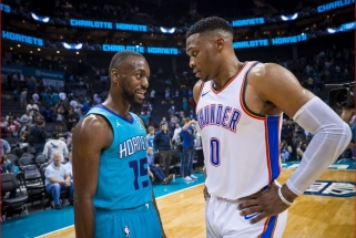 NBA savaitės žaidėjai - K.Walkeris ir R.Westbrookas