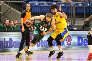Rezultatyvus Giedraitis baskų nuo pralaimėjimo Tel Avive neišgelbėjo