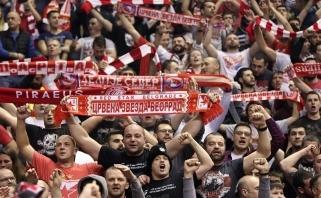 """""""Crvena Zvezda"""" iš Eurolygos artėjančių švenčių proga sulaukė piniginės baudos"""
