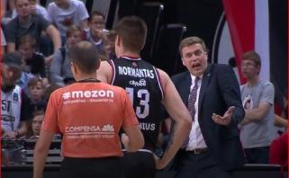 """Ir Vilniuje pasipriešinimo nesulaukęs """"Žalgiris"""" - per žingsnį nuo titulo apgynimo"""