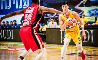 """""""Maccabi"""" per plauką laimėjo pirmąjį ketvirtfinalio mačą"""
