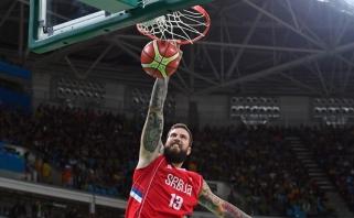 Net 45 taškais pirmavę serbai ketvirtfinalyje gali mesti iššūkį Lietuvos rinktinei