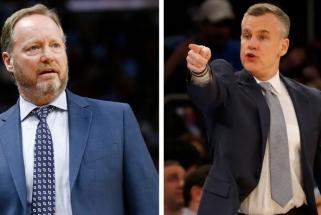 NBA metų trenerio titulas – dviem strategams