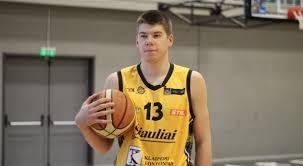 R.Giedraitis pripažintas naudingiausiu LKL balandžio mėnesio krepšininku (video)