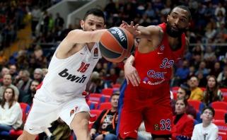 CSKA paliks lūkesčių nepateisinęs amerikietis snaiperis