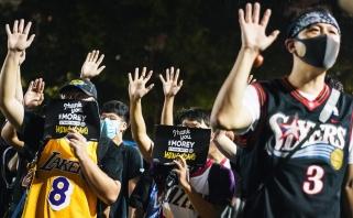 Kinija toliau boikotuos NBA lygos rungtynių televizijos transliacijas
