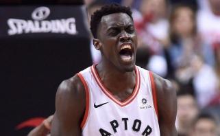 """""""Raptors"""" oficialiai paskelbė apie naują kontraktą su vienu NBA finalo didvyrių P.Siakamu"""