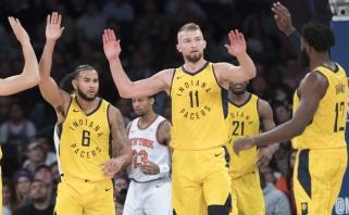 """Nesulaikomas D.Sabonis atvedė """"Pacers"""" į pergalę Niujorke (komentaras)"""