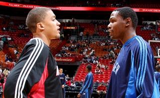 M.Beasley: pagal talentą nenusileidžiu LeBronui ir Durantui (video)