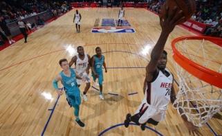 """A.Kulboka ir """"Hornets"""" NBA Vasaros lygos favoritų statusą patvirtino įveikdami """"Heat"""""""