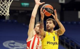 """""""Maccabi"""" nesėkmių seriją nutraukė palauždami Belgrado krepšininkus"""