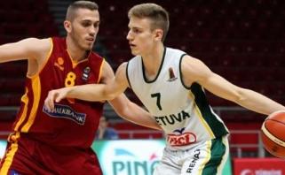 Dvidešimtmečiai turnyre Turkijoje varžovus sumindė net 59 taškų skirtumu