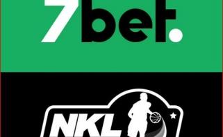 """Lažybų bendrovė """"7bet"""" tapo tituliniu NKL rėmėju"""