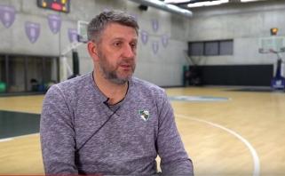 D.Maskoliūnas prieš mačą su Eurolygos čempionais: ieškosime savo mažių aštrių kabliukų
