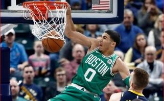 """J.Tatumas pasirašys milžinišką kontraktą su """"Celtics"""""""