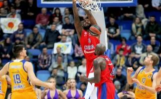 Rusijos grandų akistatoje - reguliaraus sezono nugalėtojos CSKA pergalė