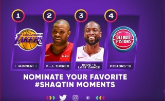 "Sh.O'Nealas pristatė 2018-2019 metų NBA sezono ""Shaqtin'A Fool"" rinkinį"