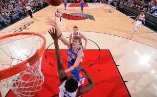 Į starto penketą sugrąžintas M.Kuzminskas sužaidė vienas geriausių mačų NBA