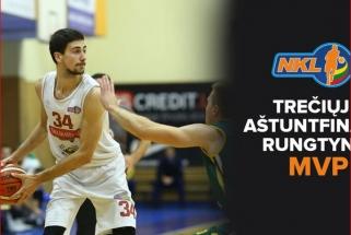 Trečiųjų NKL aštuntfinalio rungtynių apžvalga, MVP - G.Stankevičius